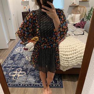ASOS design mixed print dress